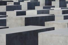 犹太纪念碑在柏林 图库摄影