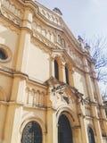 犹太纪念碑门面  免版税库存图片