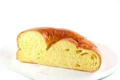犹太鸡蛋面包面包 免版税库存照片