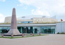 犹他海滩攻击开始日博物馆,诺曼底,法国 免版税库存照片