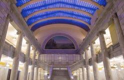 犹他状态国会大厦修造的内部 免版税库存照片