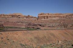 犹他砂岩沙漠 免版税库存图片