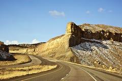 犹他风景高速公路 库存图片
