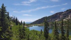 犹他Mountain湖 免版税库存图片