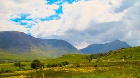 狂放的大西洋方式, Connemara 免版税库存照片