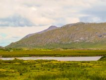 狂放的大西洋方式, Connemara 库存照片