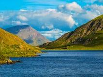 狂放的大西洋方式, Connemara 免版税图库摄影