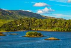狂放的大西洋方式, Connemara 库存图片