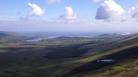 狂放的大西洋方式在爱尔兰 免版税图库摄影
