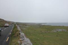 狂放的大西洋方式,爱尔兰 图库摄影