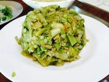 狂放的新鲜蔬菜沙拉 免版税库存图片
