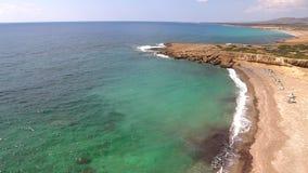 狂放的海滩塞浦路斯 影视素材