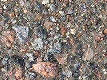 狂放的石头路 免版税库存照片
