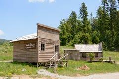 狂放的西部电影布景,在Fuzine北部,克罗地亚 库存图片