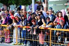 狂欢节上色塞浦路斯充分的乐趣 免版税库存图片