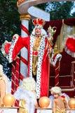 狂欢节上色塞浦路斯充分的乐趣 库存图片