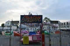 狂欢节乘驾在新泽西 免版税库存照片