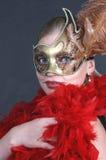 狂欢节化妆舞会 库存照片