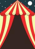 狂欢节和节日帐篷删去飞行物或海报 库存例证
