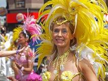 狂欢节哥本哈根参与者 免版税图库摄影
