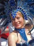 狂欢节哥本哈根参与者 免版税库存照片