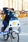 狂欢节在加利西亚(西班牙) 免版税库存图片