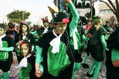 狂欢节在塞浦路斯 免版税图库摄影