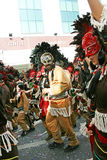 狂欢节在塞浦路斯 库存图片