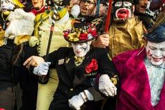 狂欢节在敦刻尔克,法国 库存图片