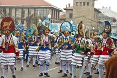 狂欢节在Verin西班牙 库存图片