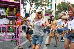 狂欢节塞浦路斯 免版税库存照片
