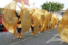 狂欢节塞浦路斯 免版税图库摄影