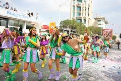 狂欢节塞浦路斯 库存图片