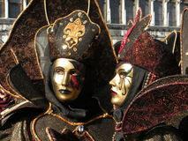 狂欢节威尼斯 免版税库存照片