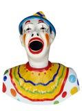 狂欢节小丑结转形象 图库摄影