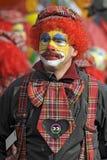 狂欢节小丑 库存照片