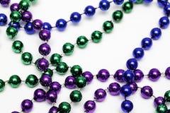 狂欢节小珠项链 库存照片