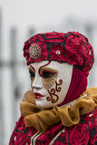 狂欢节屏蔽传统威尼斯式 免版税库存图片