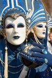 狂欢节屏蔽威尼斯 库存照片