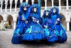 狂欢节屏蔽威尼斯 免版税库存图片