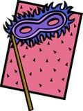狂欢节屏蔽 免版税库存图片