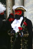 狂欢节意大利屏蔽威尼斯 免版税库存图片