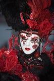 狂欢节服装威尼斯 免版税图库摄影