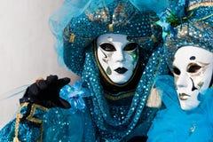 狂欢节服装威尼斯 图库摄影