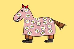 狂欢节母马 免版税库存图片
