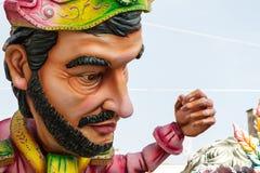 狂欢节浮游物装饰 免版税库存照片