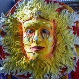 狂欢节浮游物装饰 免版税库存图片