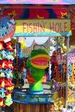 狂欢节渔比赛 免版税库存图片