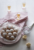 狂欢节甜点 免版税图库摄影