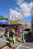 狂欢节的售票亭 库存照片